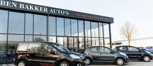 Ben Bakker Auto's