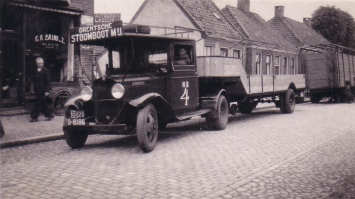 1934 - Delivery first trailer
