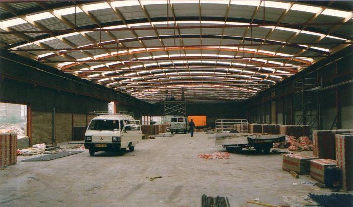 1980 - Ouverture d'une usine à Hoogeveen